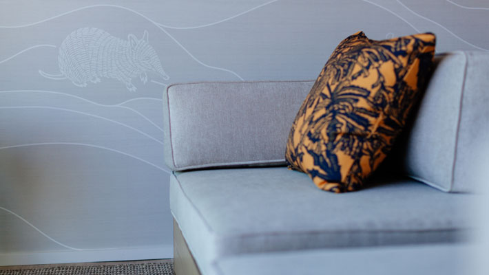 Harbour View Room - Indigenous designs
