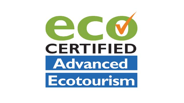Advanced Ecotourism is the highest level of ECO Certification available.